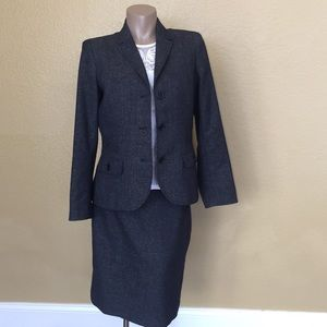 EUC Anne Klein Suit w Skirt Fully Lined 🌹 12